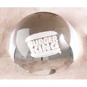 "Lucite Dome Embedment (4""x2 1/4"")"