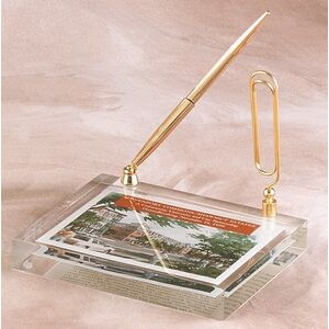 "Lucite Rectangle Embedment (4""x5 1/2""x1"")"