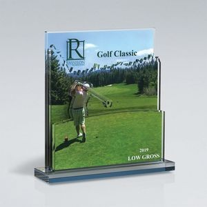 Golf Triple Layer Cutout on Base