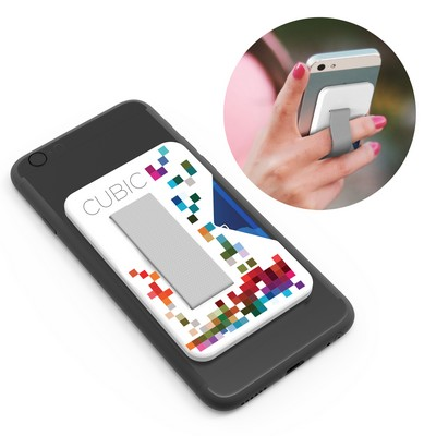 Clutch Phone security strap and cardholder
